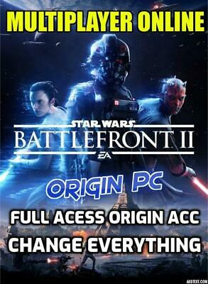 Star Wars Battlefront 2 Pc - SWBF2 - Region Free - Origin Account Full Acess