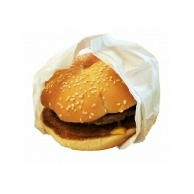 NEW White Waxed Paper Pleatpak Burger Wrappers - PACKET(500) - Kent Paper