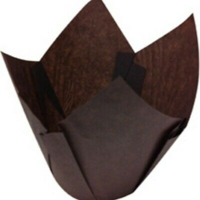 NEW Brown Parchment Muffin Papers Suit Muffin6 - 55mm base - 65mm - 85mm