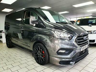 2019 19 Ford Transit Custom 2.0 300 Limited Grey Swb L1 130Bhp Mv Sport Edition
