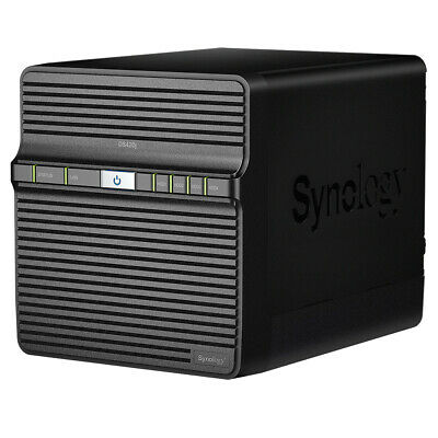 Synology DiskStation DS420J 4-Bay NAS Quad Core 1.4GHz Home Network Storage