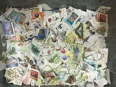 1200+ $1 Australia Postage Stamps Kiloware Off Paper Recent Modern Issues