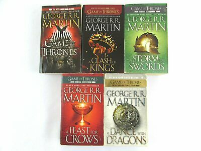 Game of Thrones by George R R Martin Complete Set (5) MM Paperback