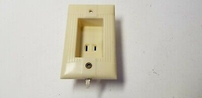 Vintage Eagle Clock Hanger Outlet Electric Plug Switch Bakelite