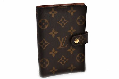 Authentic Louis Vuitton Monogram Agenda PM Day Planner Cover R20005 LV 92491