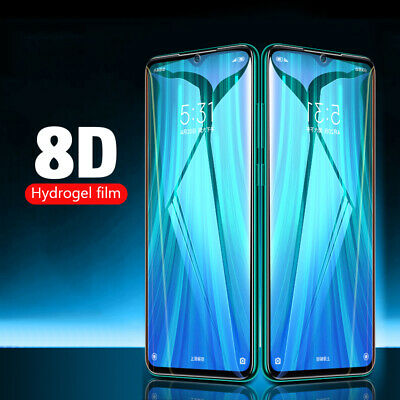 8D Soft Hydrogel Full Screen Protector Film For Samsung S20 Ultra Plus A51 A71