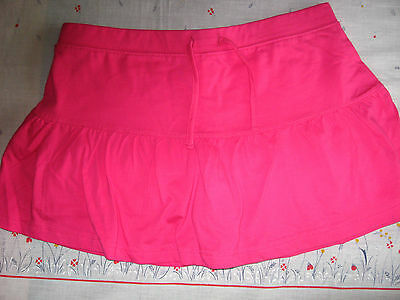 NEW GIRLS CLOTHES KYLIE M&Co RARA SKIRT SHORTS SKORT CERISE PINK AGE 13-14 YEARS