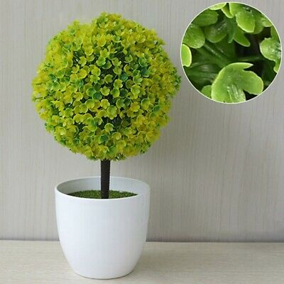 Decorative Artificial Outdoor Ball Plant Tree Pot Colour Small Medium Large .Thd