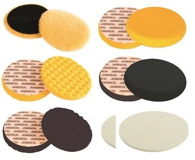 Mirka Polishing Pads Lammfellpads in Various Sizes and Variations Selecable