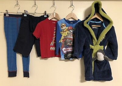 Boys Bundle Of Clothing Age 3-4 M&S Nickelodeon Next *<D2151