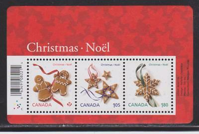 2012 Canada SC# 2581 Christmas Cookies-Stained Glass M-NH Souvenir Sheet #170