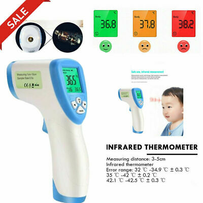 IR Infrared Digital Termometer Non-Contact Baby&Adult Body Forehead MD