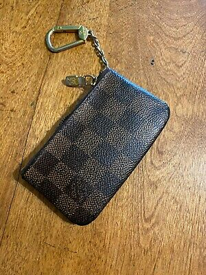 Louis Vuitton LV Authentic Damier Ebene Coin Purse Key Pouch N62658