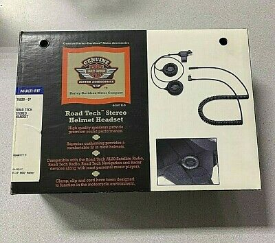 Harley Davidson Road Tech Stereo Headset