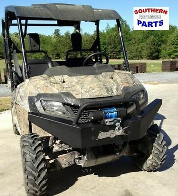 Strong Made Winch Series Front Bumper Honda Pioneer 1000 2016-2020