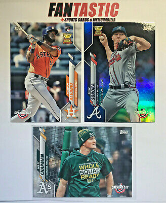 2020 Topps OPENING DAY Base & Parallel Card YOU PICK list inc Rookie etc RC
