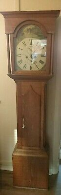 Oak Case 8 Day Striking Long Case Clock G.W.O