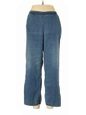 Alfred Dunner Women Blue Casual Pants 6 Petites