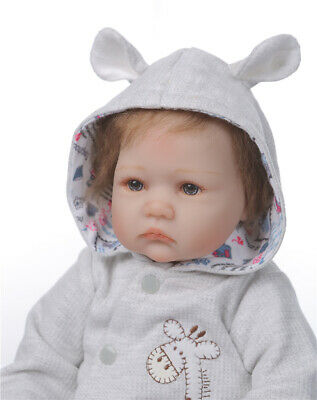 Realistic Reborn Baby Dolls Lifelike Silicone Weighted Baby Dolls 22 In Handmade