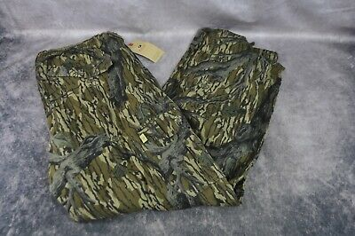 Mossy Oak Cotton Mill 2.0 Camo Hunting Pants for Men Camouflage Size 3X