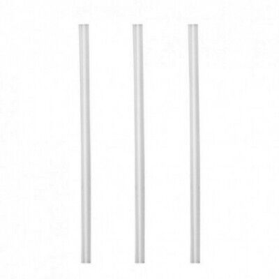 NEW Clear Oxo-Biodegradable Thickshake Straws - 6mm - CARTON(3000) - Kent Paper