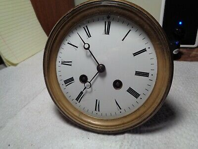 """Antique-French """"Japy"""" Clock Movement-Ca.1880-To Restore-#K507"""