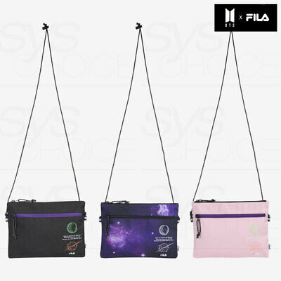 BTS FILA VOYAGER COLLECTION Sacoche Bag FS3BCC5B01X + Tracking Number