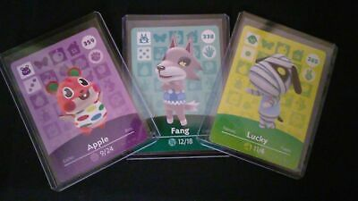 Animal Crossing Amiibo Card Series 4 Unscanned Individually Toploader & Sleeved