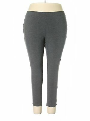 Philosophy Republic Clothing Women Gray Casual Pants 3X Plus