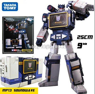 Transformers mp13 Soundwave mp36 Megatron Masterpiece 10in Action Figure KO Toys