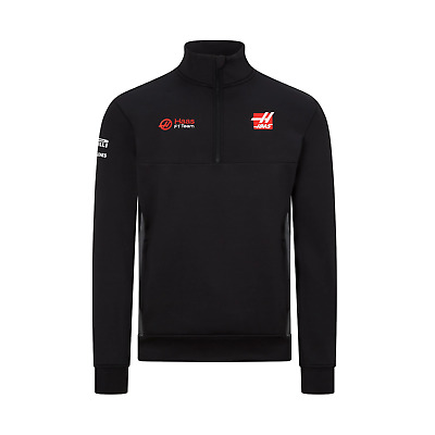 Haas F1 Men's Half Zip Sweater - 2020