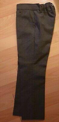 Bnwot Boys M&S Grey School Trousers Age 4-5 Years