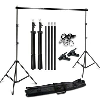 Photography Background Stand Support System Kit Bag Backdrop For Photo Studio