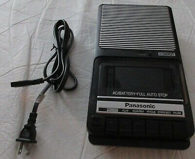 Panasonic RQ-2102 portable cassette player recorder complete A/C adapter FREE SH