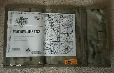 Raine Inc US Military Style Multicam OCP Individual Map Case Model 029SMC NWT