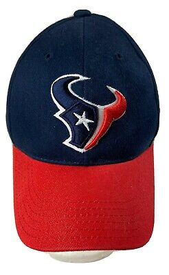 Houston Texans Navy Logo Reebok Embroidered Hat NFL Football One Size Fits All