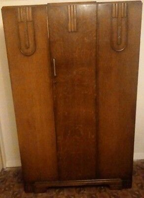 C.W.S Ltd Cabinet Factory Wardrobe, Dressing Table, Draws & Bed, Matching 4p Set