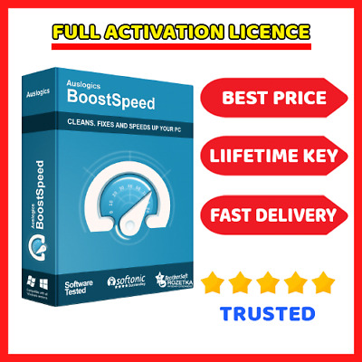 Auslogics BoostSpeed 11.4 🔑 Genuine Lifetime License Key ⭐ Fast Dilevery