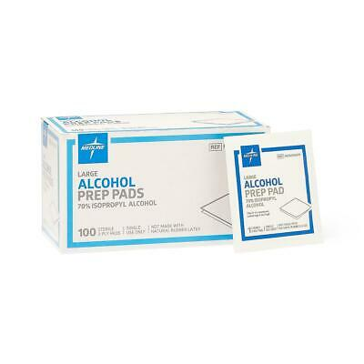 Medline Sterile Alcohol Prep Pads (box of 100) MDS090670 (MDS090670Z)
