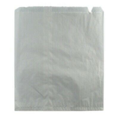 NEW White Paper Sponge Bags - 290mm - PACKET(500) - Kent Paper