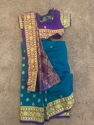 CHILD BOLLYWOOD INDIAN DRESS UP OUTFIT AGE 4-12 Boys kids fancy dress costume