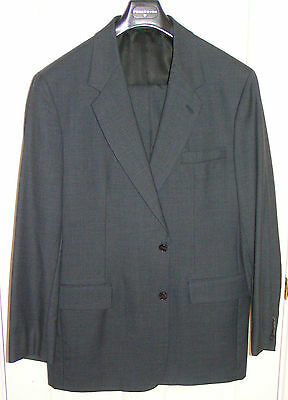 ~~new~~ FREEDBERG OF BOSTON Suit ~~ 42L ~~ SMALL FLAW ~~ USA 100% Wool ~~ l long