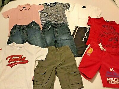 Vgc Bundle Of 6 Outfits Long Shorts And Tshirts Tops Age 2-3 Mostly Next