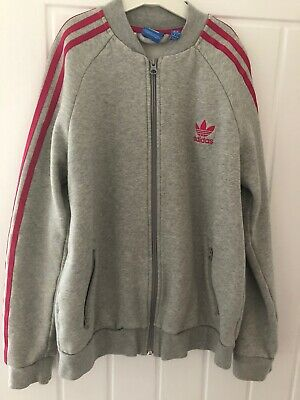 Adidas tracksuit top age 13-14