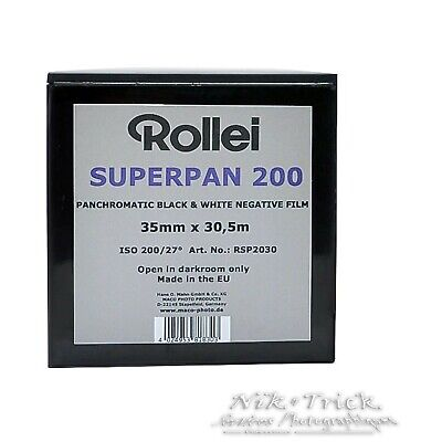 Rollei Superpan 200 ~ 35mm Bulk 100ft/30.5m ~ Superb Film at a Great Price