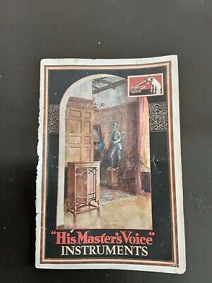 """""""His Masters Voice"""" Instruments Catologue 1930"""