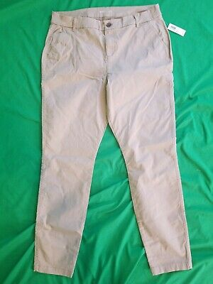 Womens- Old Navy- Size 14 Long Skinny- NWT- Khaki Pants