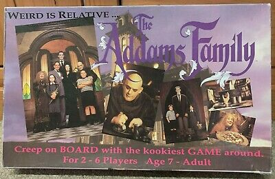 Vintage 1991 The Addams Family Board Game