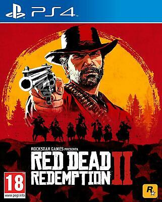 PS4 RED DEAD REDEMPTION 2 EU  GIOCO PLAY Station 4 Nuovo