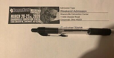3 Horrorhound Weekend Tickets-May 22nd-24th (NEW DATE)